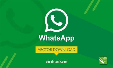 logo wa whatsapp png vector cdr hd