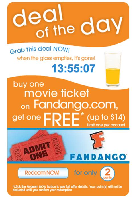 printable movie tickets coupons tropicana rewards buy 1 fandango movie ticket get 1 free