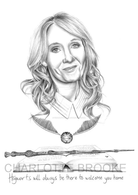 J K Rowling Sketches by J K Rowling Drawing Pencil Sketch Colorful Realistic