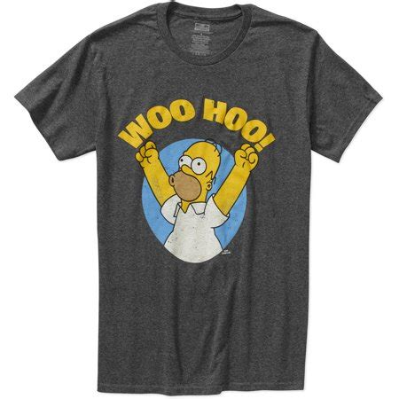 The Simpsons Graphic 16 simpsons homer woo hoo mens graphic sleeve t shirt