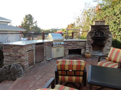 outdoor kitchen designs with pizza oven custom outdoor kitchen lc oven designs pizza oven
