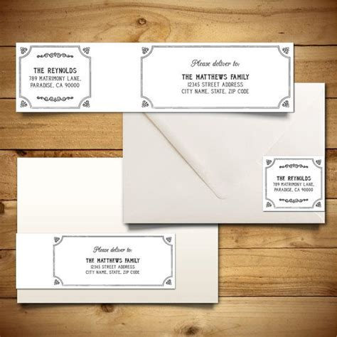 wedding mailing labels templates wedding mailing labels templates free template