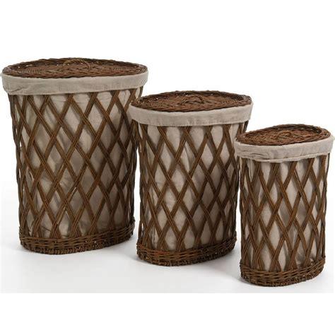 cestas decoracion ideas para decorar con cestos de mimbre el hogar