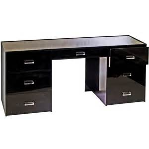 black desk with drawers plexi craft archive custom plexiglass furniture designs
