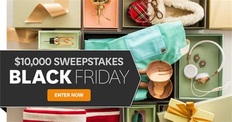 Sweepstakes September 2017 - bhg 10 000 black friday sweepstakes 2017