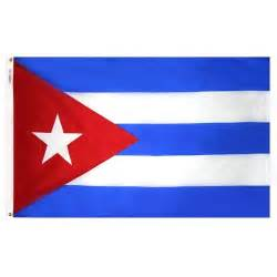 cuban colors cuba flag cuban flag from flags unlimited