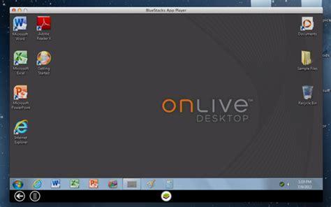 bluestacks not responding mac how to get onlive desktop running on your mac redmond pie