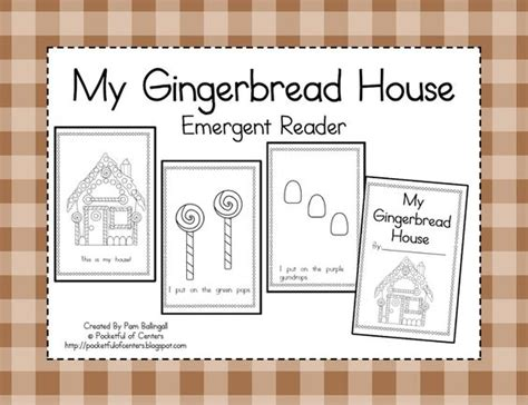 gingerbread man printable emergent reader emergent readers gingerbread houses and gingerbread on