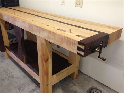 roubo work bench split top roubo workbench finewoodworking