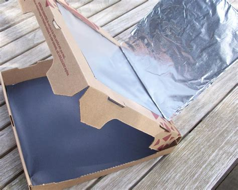How To Make A Paper Oven - a solar oven with students who are blind or