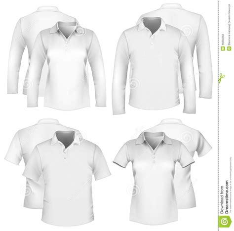 Men S And Women S Shirt Design Templates Stock Photography Image 16056562 Fashion Design T Shirt Templates