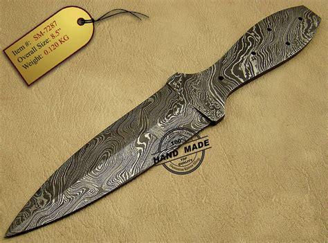 damascus blade knife new damascus blank blade skinner knife custom handmade