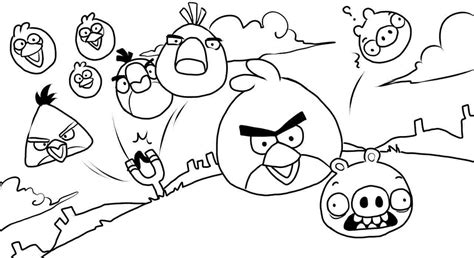 coloring pages printable angry birds angry birds coloring pages only coloring pages