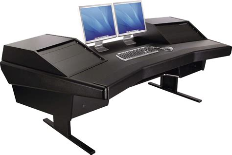 Computer Desk For Dual Monitors Dual Computer Desk For Home Or Office