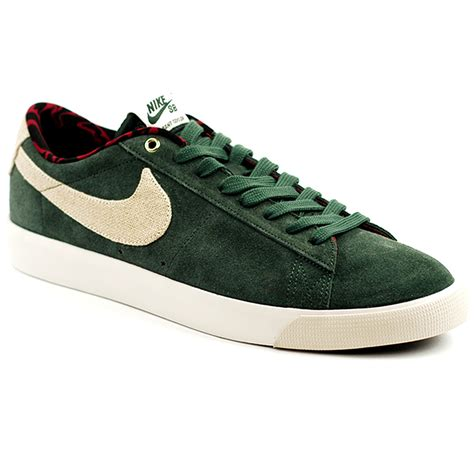 nike sb blazer low gt grove green phantom forty two