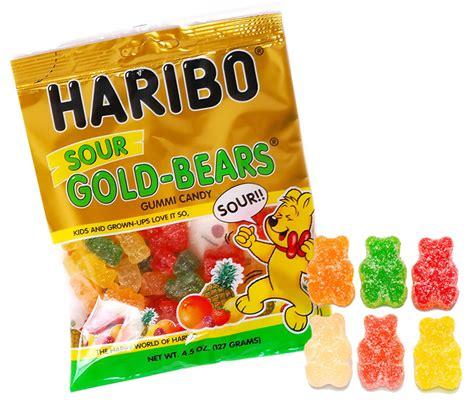 haribo sour gummi bears 4 5oz bag
