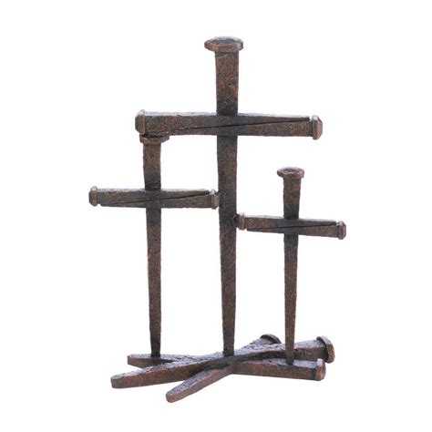 Wholesale Crosses Home Decor by Cross Of Nails Trio Decor Wholesale At Koehler Home Decor