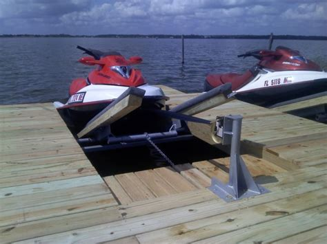 diy boat kits diy double pwc dock kit floating boat dock with swim