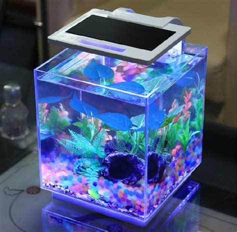Fish Tank Bar Top by Sunsun Smart Dimmable Aquarium Bar Tables Small Marine