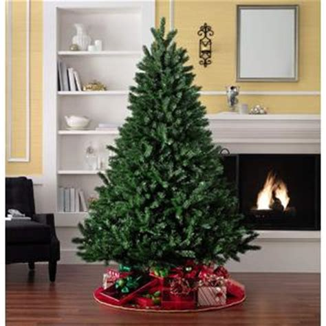 christmas tree 7 feet tall indoor unlit artificial holiday