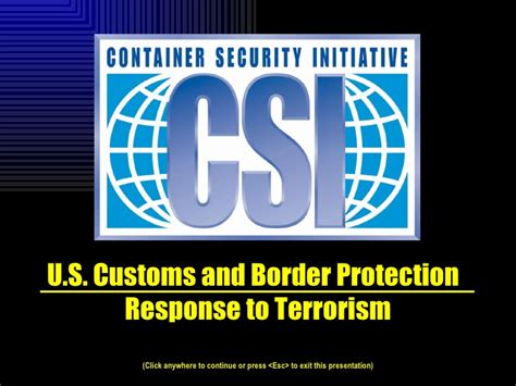 container security initiative csi