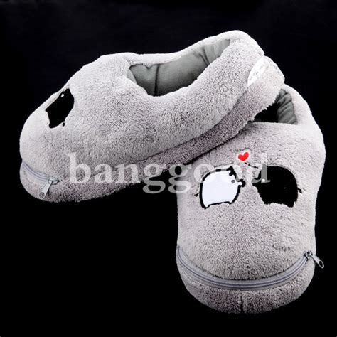 electric heated slippers plush usb laptop pc electric heating slippers heated shoes