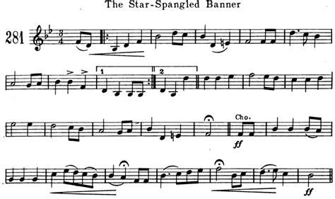 printable star spangled banner sheet music the star spangled banner free violin sheet music
