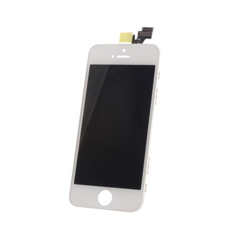 Lcd Fullset Iphone 5 lcd touch panel for iphone 5 white set hq tm plus