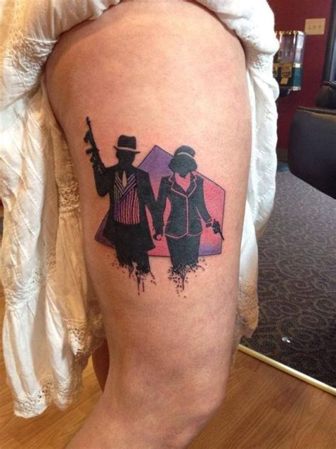 bonnie and clyde tattoos ideas bonnie clyde by drayton fraley tattoos