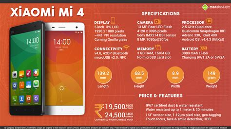 Xiaomi Mi4 Mi 4 Bm32 Batterybateraibatrebatt facts about xiaomi mi 4