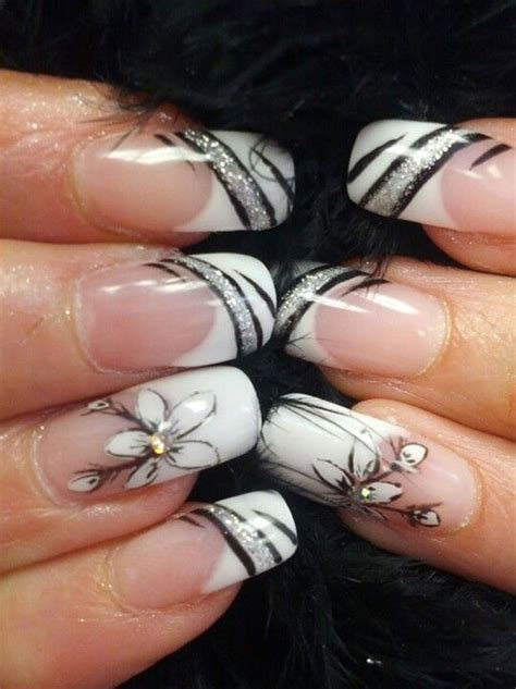 Model Ongles 2016 by 15 Black Gel Nail Designs Ideas 2016