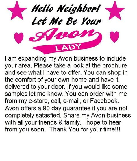 avon flyer template ideas bing images