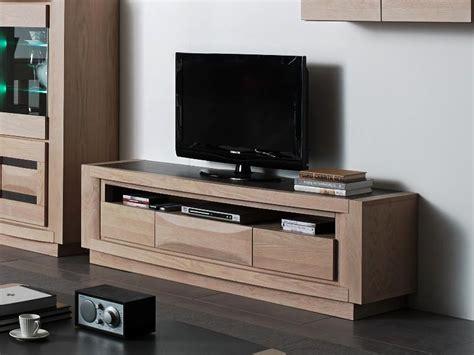 Impressionnant Lave Main Avec Meuble Ikea #10: Meuble-tv-marina-avec-tiroirs-chene-massif.jpg