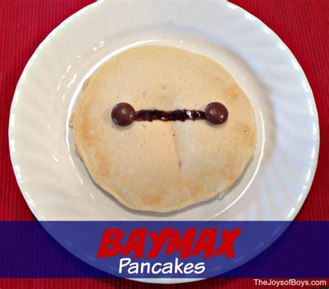 Paddington Baymax teddy pancakes