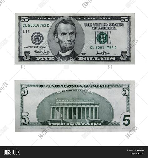 5 dollar black five dollar bill clip black and white www imgkid