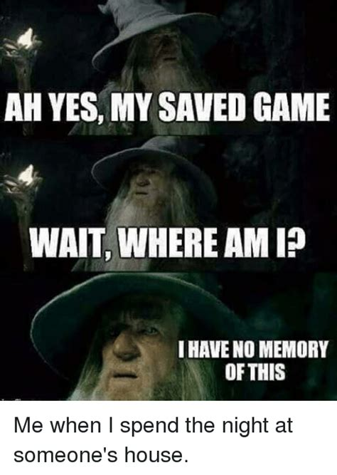 ah   saved game wait  amio    memory