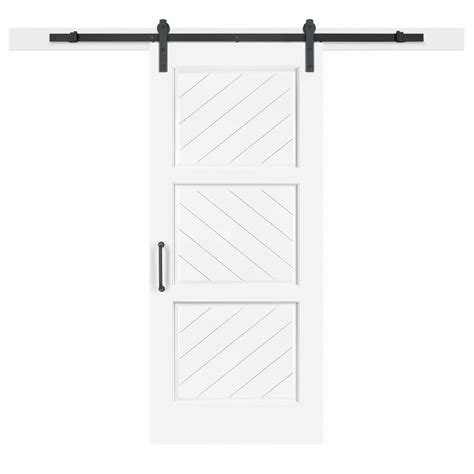 jeff lewis barn doors jeff lewis 36 in x 84 in white collar 3 panel