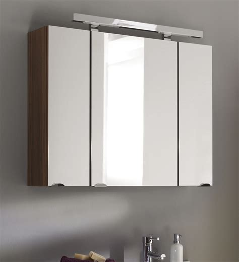spiegelschrank walnuss badm 246 bel spiegelschrank laonda in walnuss