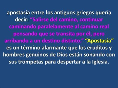 claudio freidzon y su apostasia su venida y la apostasia
