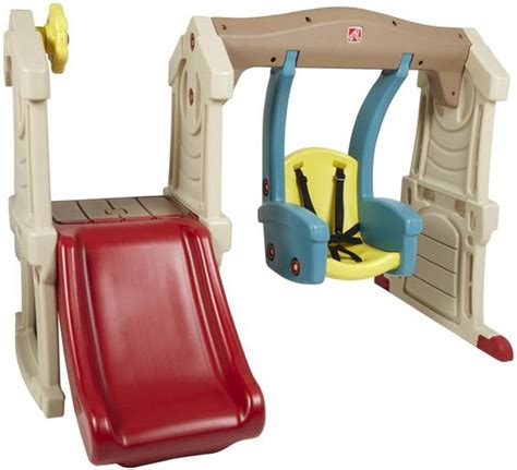 toddler slide and swing set step two swing set step 2 toddler swing slide step2 from