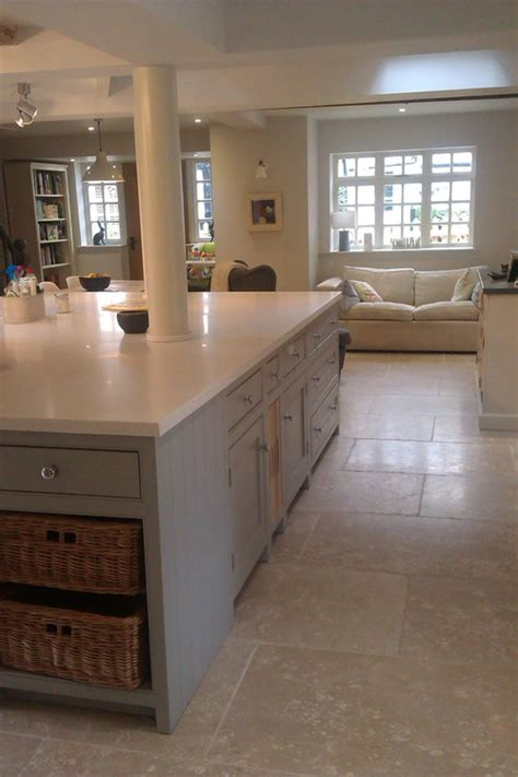 Farrow And Shaded White Kitchen Units by Our New Kitchen