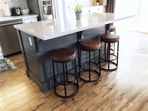 Building A Kitchen Island With Seating Best 25 Diy Kitchen Island Ideas On Build Kitchen Island Diy Build Kitchen Island