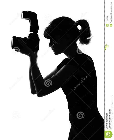 photographer vector silhouette photographer stock image image 21134079