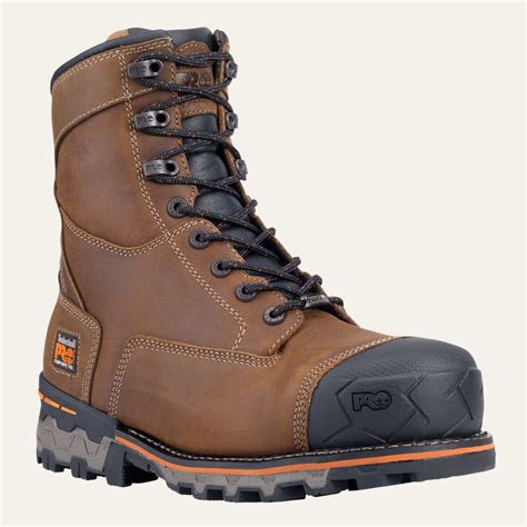 timberland s boondock 8 quot composite toe boot