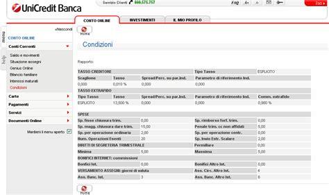 Unipol Banca Conto On Line by Conto Corrente Quot Genius One Quot Di Unicredit Pagina 2