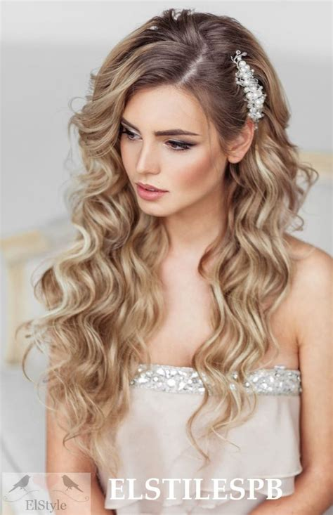 wedding hairstyles pulled to the side wedding hairstyle inspiration weddings prom and curls