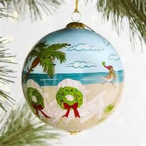 li bien christmas at the beach ornament pier 1 imports