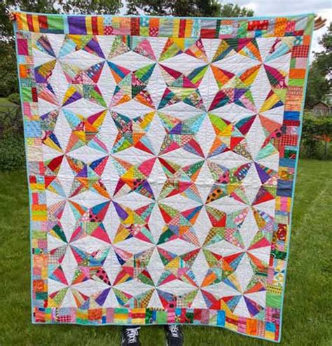 Kaleidoscope Quilt Patterns by Kaleidoscope Quilt Pattern Aeq 47 Advanced Beginner