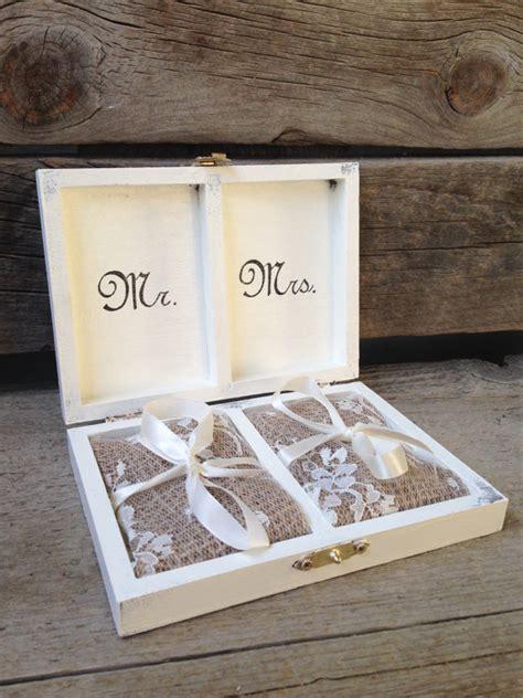 Wedding Ring Bearer Box by Ring Bearer Box Instead Of Pillow