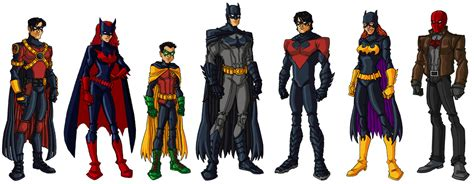 batman a in the family batman family vi by vo5 on deviantart